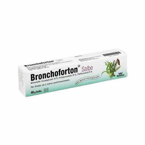 Bronchoforton Salbe 40g