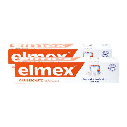 ELMEX Zahnpasta Doppelpack
