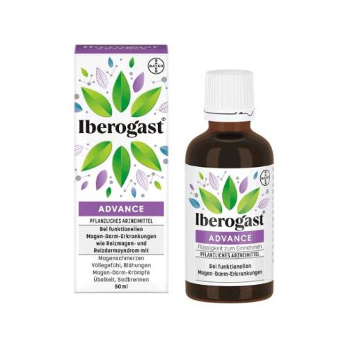 IBEROGAST ADVANCE Flüssigkeit zum Einnehmen